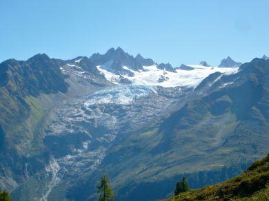 Glacier (lodowiec) du Tour.