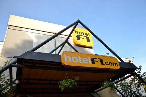 W drodze do Nicei zatrzymujemy się w hotelu na przedmieściach Lyonu.