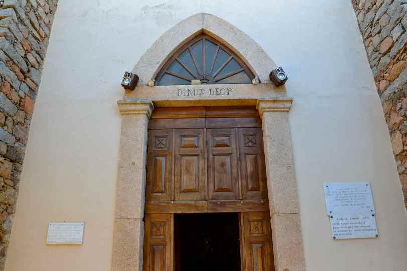 Kościół grecki – Cargèse. Eglise grecque – Cargèse.