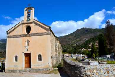 Kierunek – Monte Cinto. Direction – Monte Cinto.