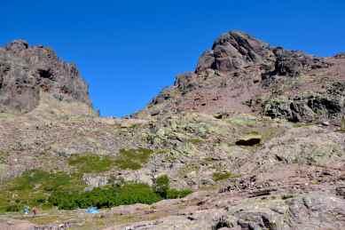 Capu Tafunatu, Col des Maures, Paglia Orba.