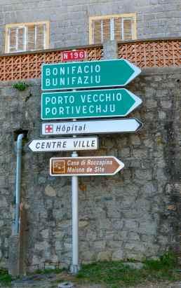 Opuszczamy Sartène i kierujemy się w stronę plaży Santa Giulia. Nous quittons Sartène et nous nous dirigeons vers la plage Santa Giulia.