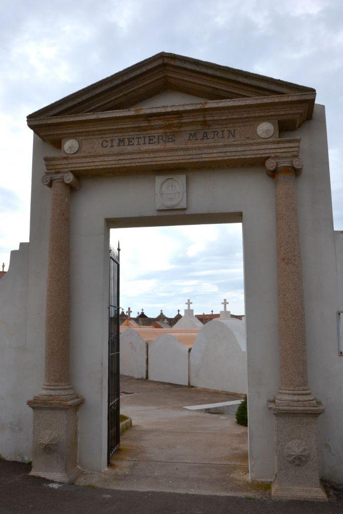 Cmentarz marynarzy, Bonifacio.