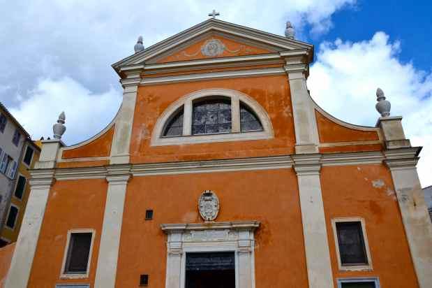 Katedra Notre-Dame-de-l'Assomption (Katedra Santa Maria Assunta) – 1593. La cathédrale Notre-Dame-de-l'Assomption (Cathédrale Santa Maria Assunta) – 1593.