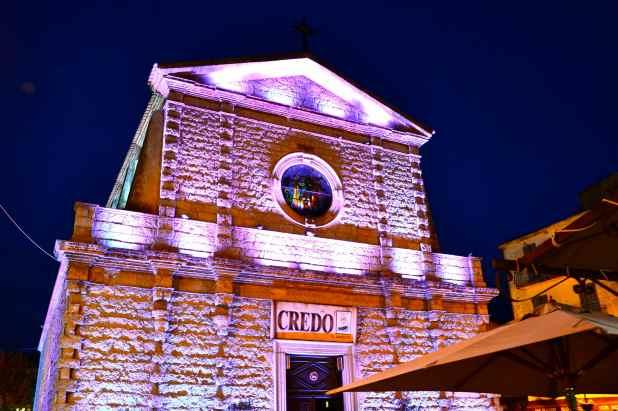Kościół parafii Porto-Vecchio. L'Eglise de la paroisse de Porto-Vecchio.