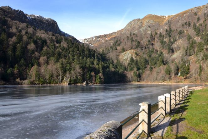Jezioro Schiessrothried (930 m).