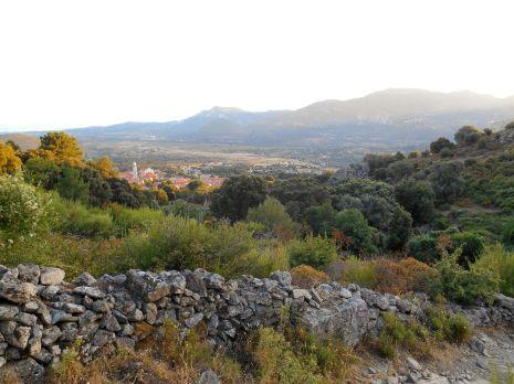 Widok na Calenzanę.