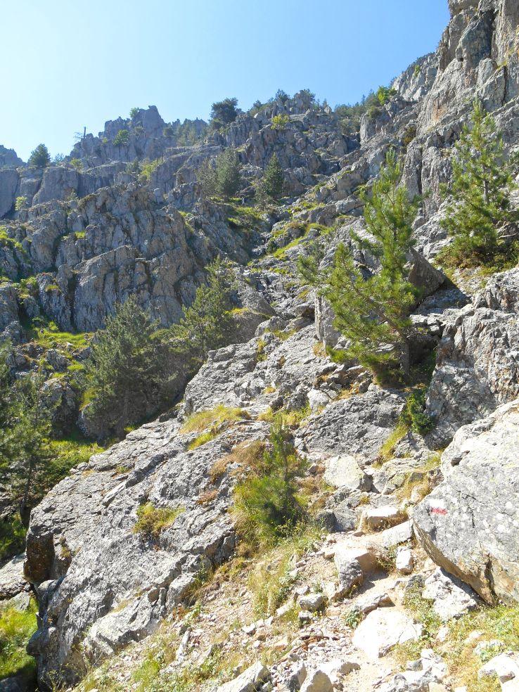 Podejście w stronę Capu Ghiovu.