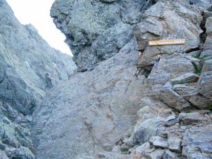 Przełęcz – Bocca Tumasginesca (2183 m).