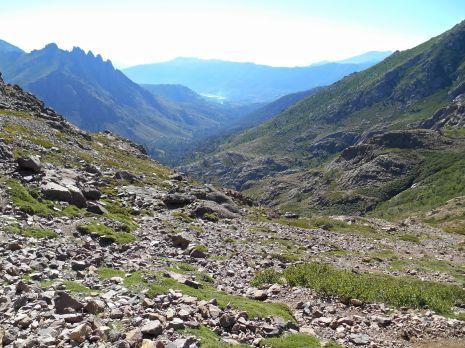 Spoglądając wstecz (dolina Focce Chialla).