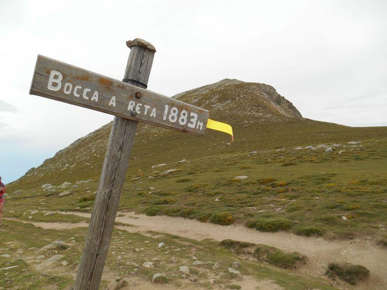 Przełęcz Bocca a Reta.