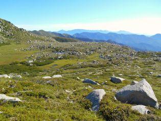 Widok na Plateau de Pizzolu.