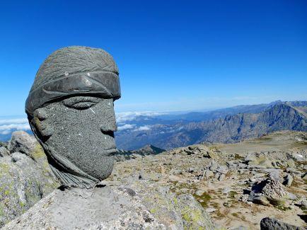 Monte Rinosu (2352 m).