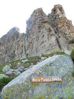 Przełęcz Bocca Pargulu.