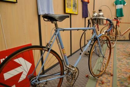 Wystawa z okazji Tour de France.