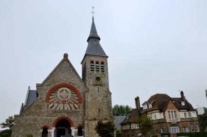 Kościół świętej Joanny d'Arc.