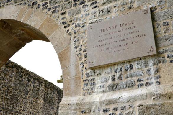 Jeanne d'Arc tu była.