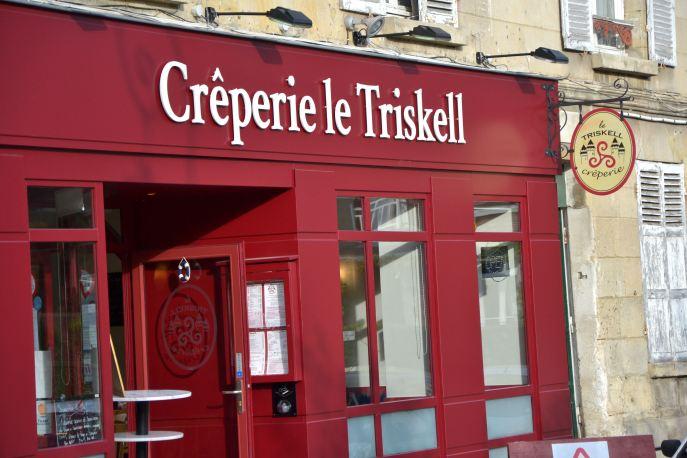 Restauracja z naleśnikami, do której zajdziemy na mały posiłek po wycieczce w zamku.