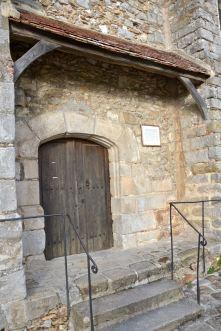 Wejście do kościoła.