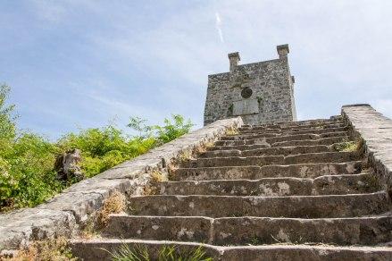 Ostatnim miejscem widokowym jest Wieża Derencourt wybudowana w 1851 roku.