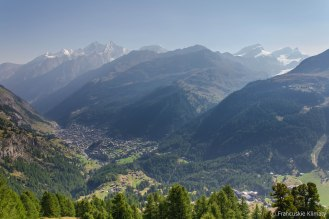 Dolina Zermatt.