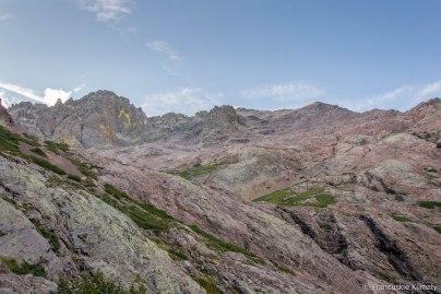 Monte Cinto i Pointe des Eboulis.