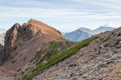 Capu Borba (2305 m).