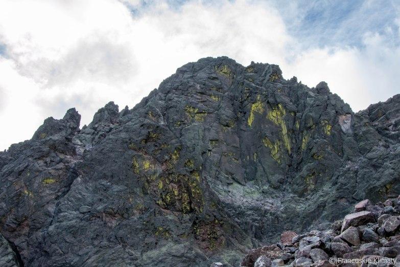 Monte Cinto, ściana północna.