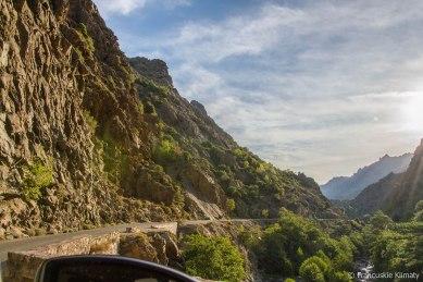 W drodze do Vizzavony - A Scala di Santa Regina (Santa r'ghjina).