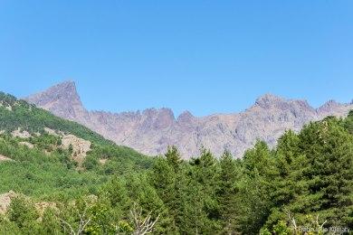 Widoczna po lewej stronie Paglia Orba - ściana wschodnia.