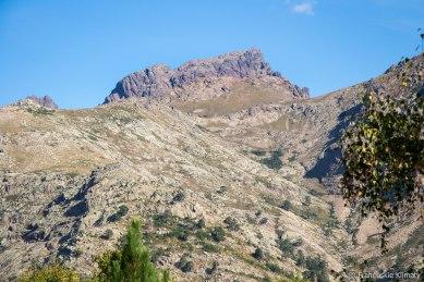 Kolejne ujęcie szczytu Paglia Orba - ściana południowa.
