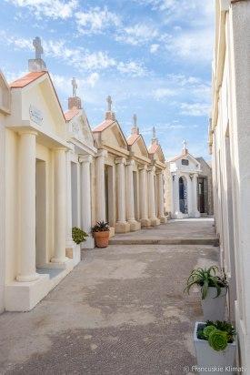 Cmentarz w Bonifacio.