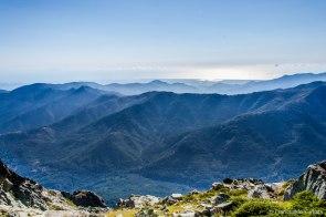 Niesamowite widoki na wschodnie wybrzeże Korsyki.