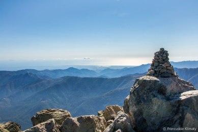 Na szczycie - widok na wschodnie wybrzeże.