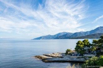 Widok na wschodnie wybrzeże Cap Corse.