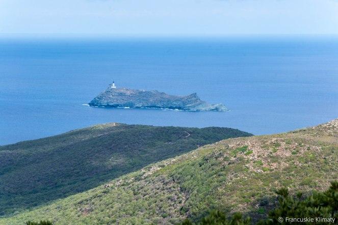 Wyspa Giraglia.