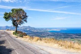 Widok na Ile-Rousse.