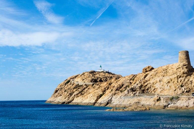 Latarnia morska Ile-Rousse.