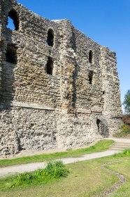 Ruiny zamku Canterbury.