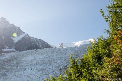 Glacier des Bossons.