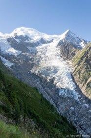 Glacier de Taconnaz.