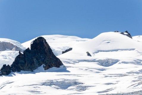 W tle - mont Blanc.