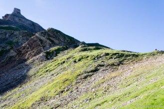 Przełęcz - Col du Bonhomme (2329 m).