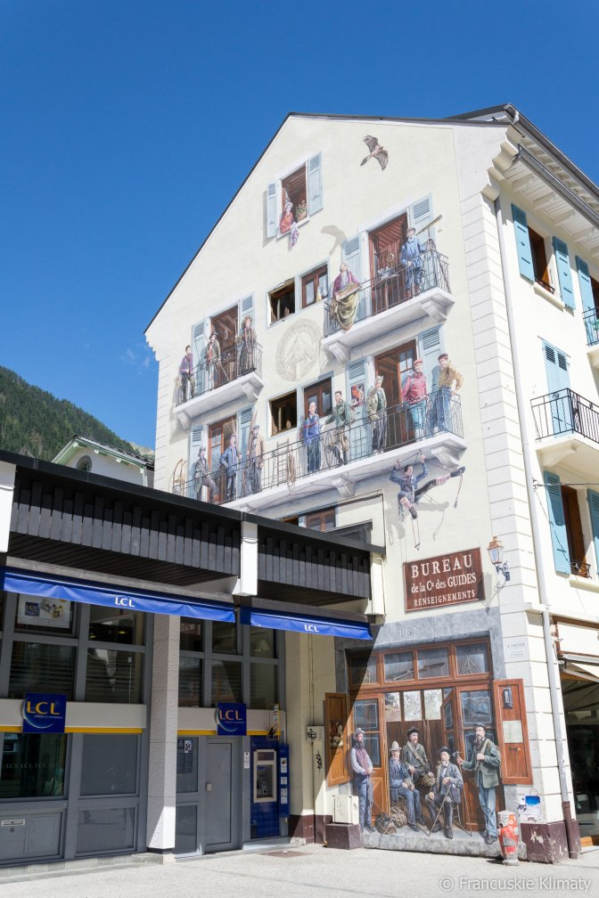 Chamonix - centrum miasta.
