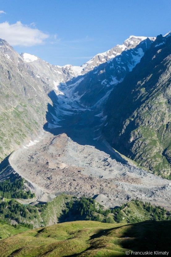 Glacier du Miage.