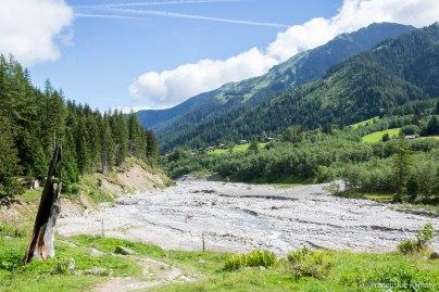 Rzeka - Drance de Ferret.