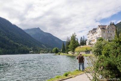 Jezioro - Champex.