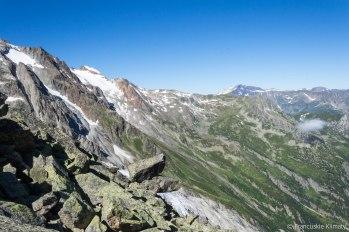 Jesteśmy na miejscu - widok na Mont Buet.