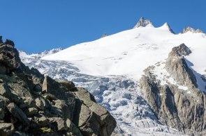 Glacier du Trient.