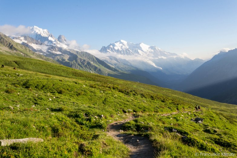 Masyw Mont-Blanc.